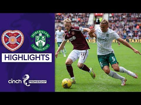 Hearts Hibernian Goals And Highlights