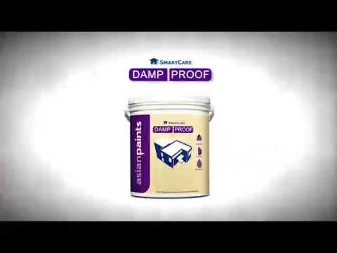 Asian paints damp proof youtube - Damp proofing paint for exterior walls ...