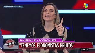 Javier Milei en Intratables (25/06/19)