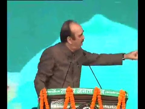 Family of Lalu Prasad Yadav, CM of Bengal being threatened Alleges Ghulam Nabi Azad at Ant