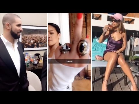 Every Snapchat Video Rihanna Has EVER Posted