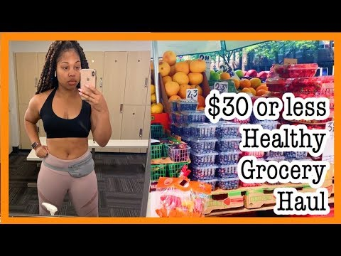 CHEAP & HEALTHY GROCERY HAUL for WEIGHT LOSS! #1