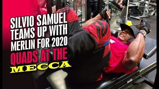 SILVIO SAMUEL TEAMS UP WITH MERLIN FOR 2020!-QUADS AT THE MECCA OF BODYBUILDING.