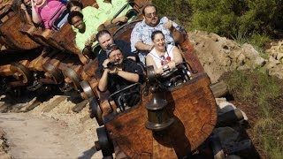 Seven Dwarfs Mine Train FULL GUEST EXPERIENCE Multi Cam POV at Rock Your Disney Side Day