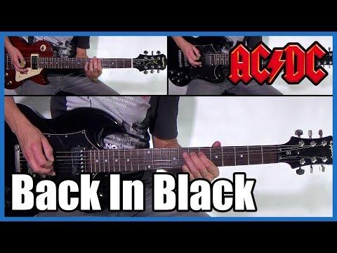 AC/DC BACK IN BLACK FULL COVER | With Lyrics (sub Español)