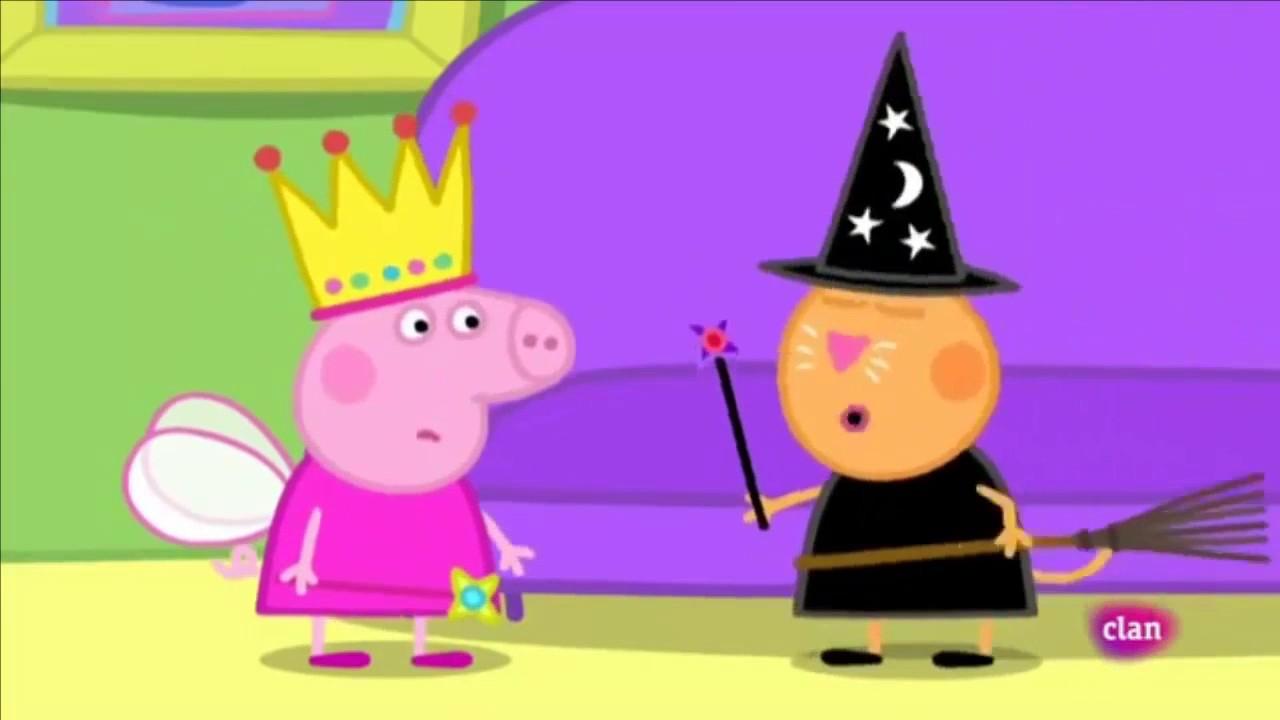 Peppa pig en Español (LA FIESTA DE DISFRACES) Capitulo de Clan ...