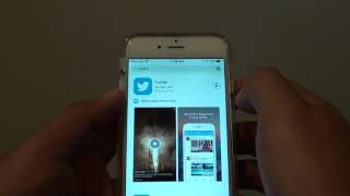 iPhone 6: How to Install Twitter App