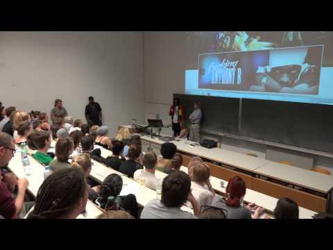 ANTHONY B @ VIENNA UNI - speech 1  20140526