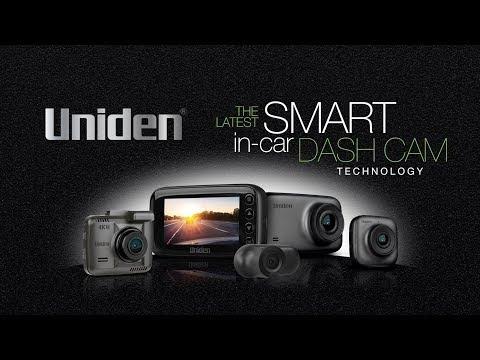 Uniden - Smart Dash Cam Range 2018