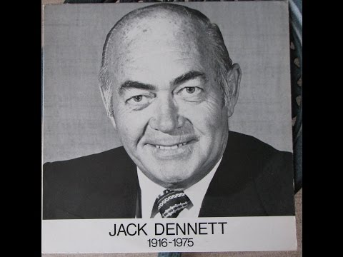 A tribute to Jack Dennett, 1916 - 1975, CFRB, Radio Announcer