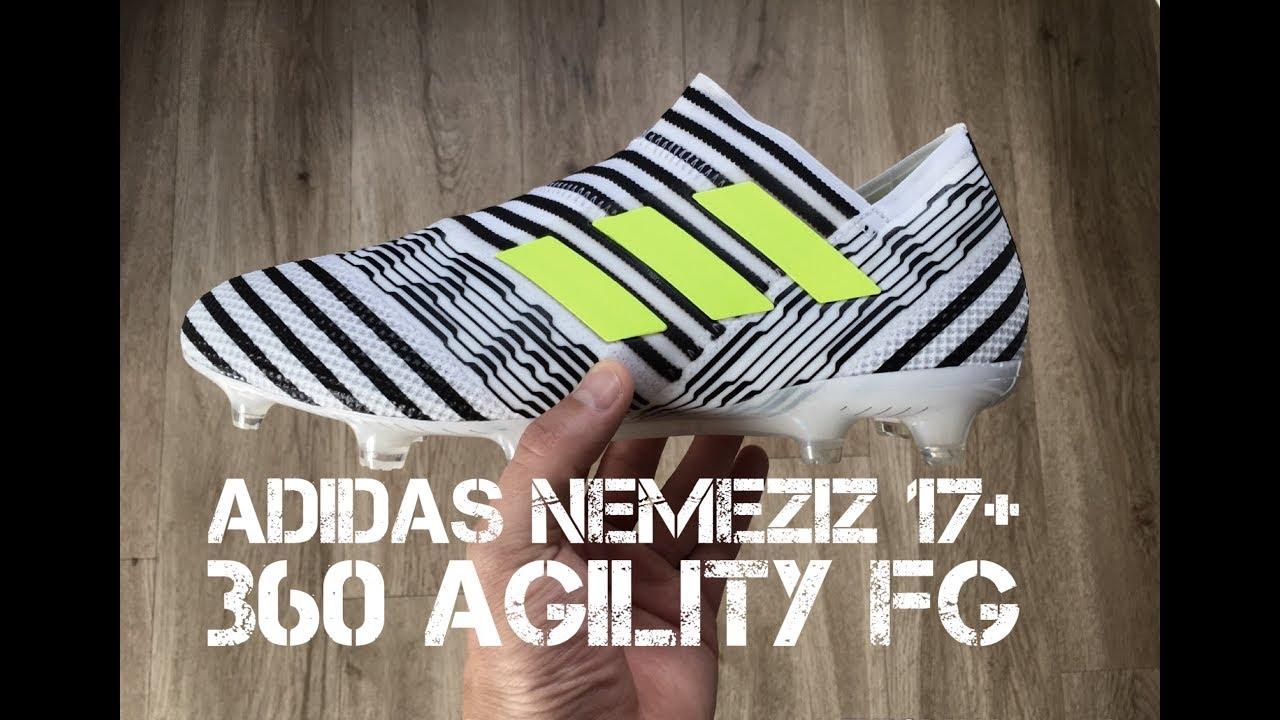 b457fa1cb266 Adidas NEMEZIZ 17+ 360 AGILITY  White Solar Yellow Core Black ...