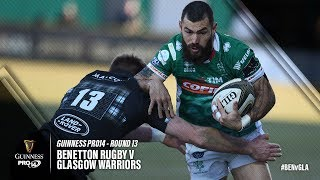 Guinness PRO14 Round 13 Highlights: Benettton Rugby v Glasgow Warriors