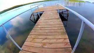 Ныряю в озеро Увильды 8 сентября 2018 г