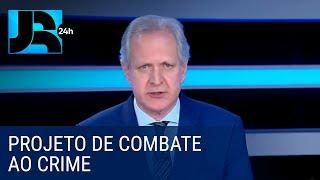 Augusto Nunes: projeto de combate ao crime reduziu a violência