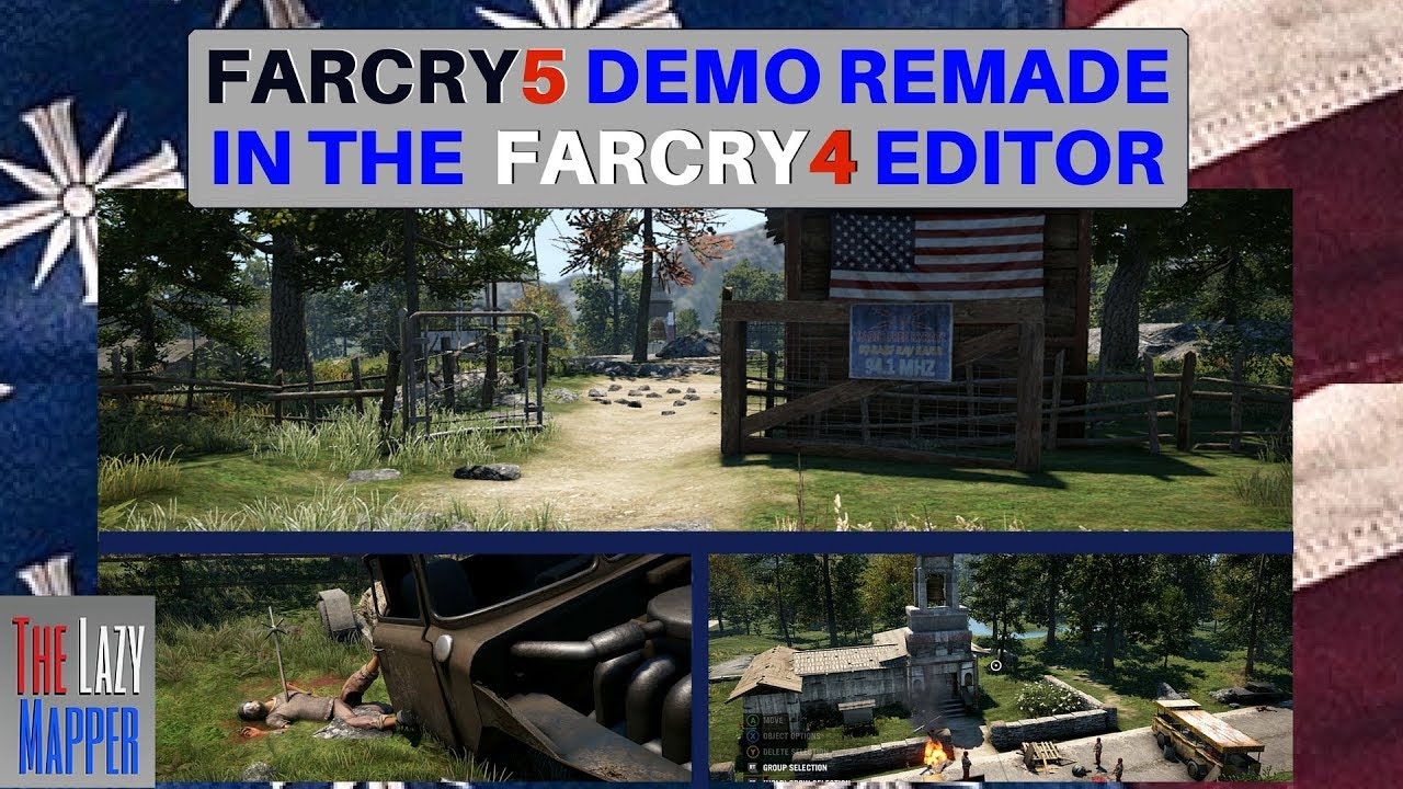 Far Cry 5 Demo Remade In The Far Cry 4 Map Editor Youtube