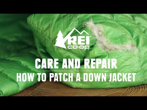 Video: How to Repair Your Down Jacket