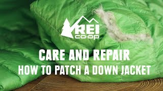 How to Patch a Down Jacket || REI