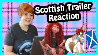 Wreck it Ralph 2 Trailer (Merida Scene) Scottish Reaction
