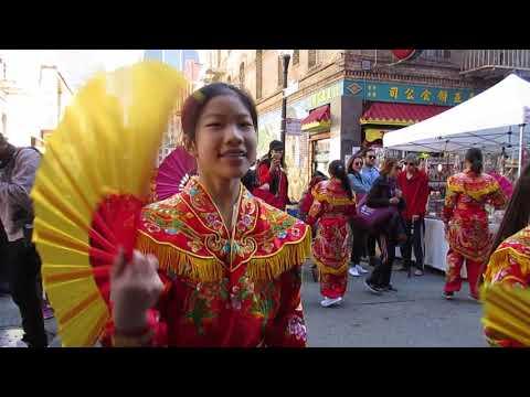Autumn Moon Festival Parade 2018 Chinatown San Francisco California