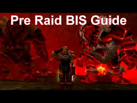 WoW Rogue Pre Raid BIS Guide for Vanilla, Classic
