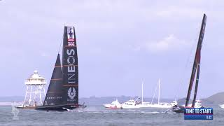 INEOS TEAM UK Stunning Start in Race Eight | America's Cup World Series | Day 2