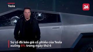 Elon Musk 'muối mặt' vì màn thử kính xe chống đạn | VTV24