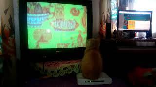Кошка и советский мультфильм! 2