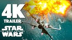 Star Wars: Episode VII - The Force Awakens 4K Trailer #3 (2015) Star Wars Movie 4k HD