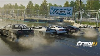 The Crew 2 | 5-MAN DRAG RACING @ Drag Strip & Track! w/ Drag Viper, C7, 370Z, & R34s