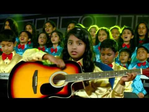 Make Me a Channel of Your Peace-St.Francis school Choir, Bangalore.