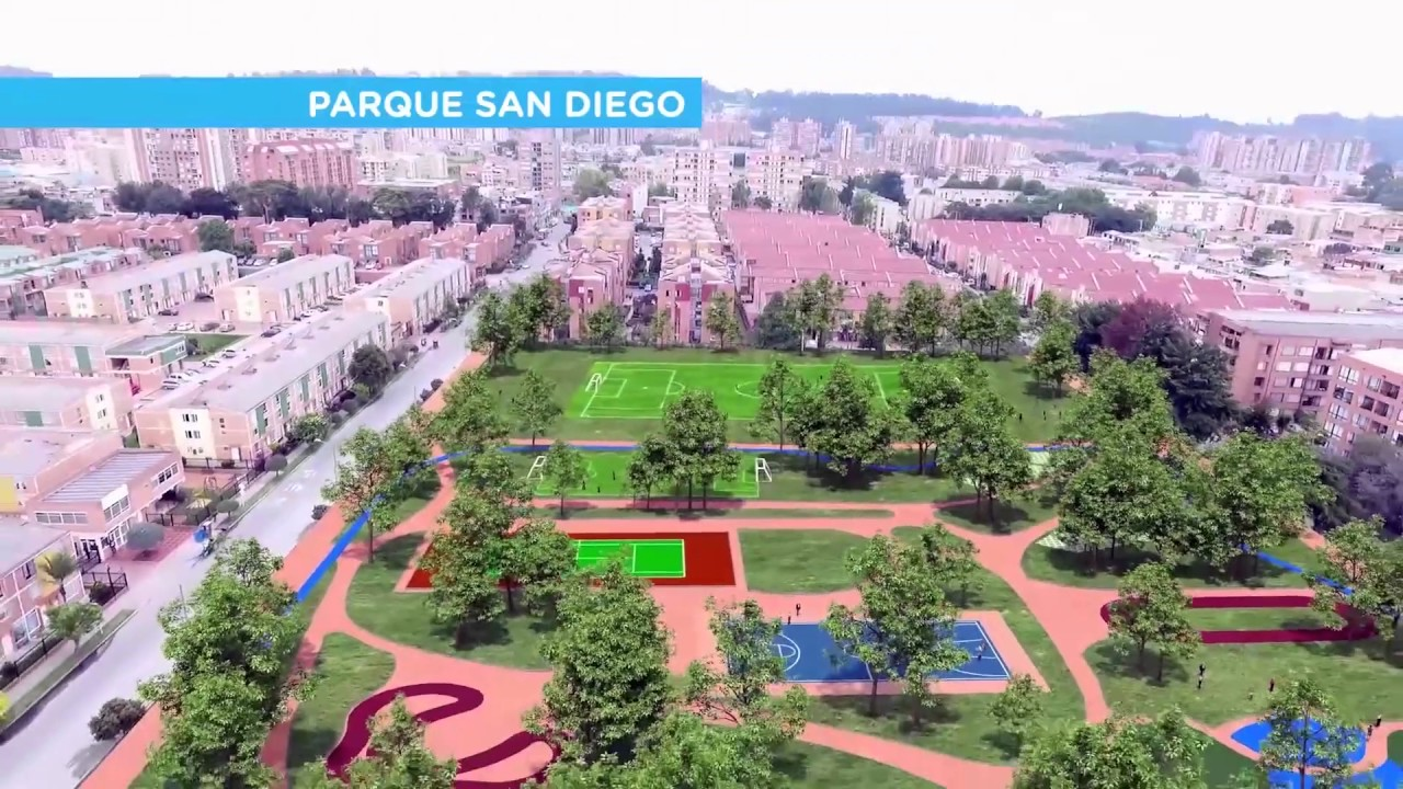 Parque San Diego - YouTube
