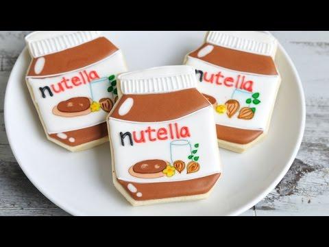 NUTELLA JAR COOKIES, HANIELA'S