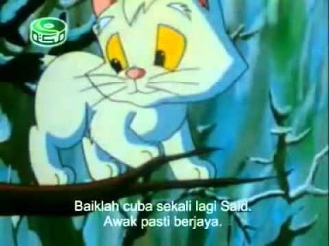 Cerita Kucing Yang Sesat                       (كرتون القط الضائع)