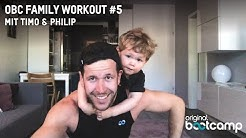 "5 Min. Eltern & Kind Workout ""Tabata: Push & Pull"" 