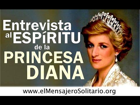 Entrevista al espíritu de la Princesa Diana de Gales Lady Di | El Mensajero Solitario