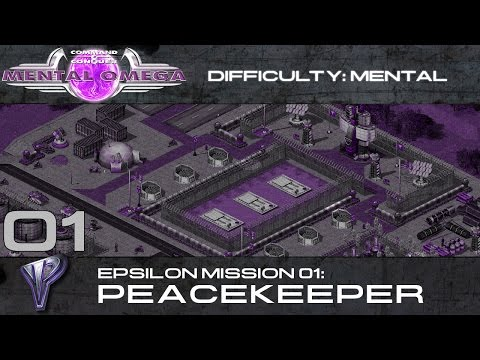 Mental Omega 3.0 Act One - Yuri's Epsilon Mission 01: Peacekeeper (On Mental) [HD]
