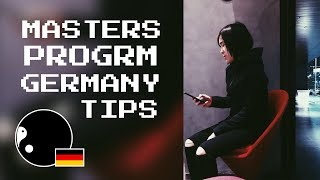 How I got in a Masters Program in Germany