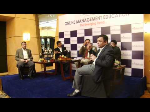 Swaminathan.K, CEO of myBskool at Panel Discussion abt Online Management Education