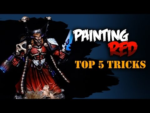 5 Easy Steps to Painting Red