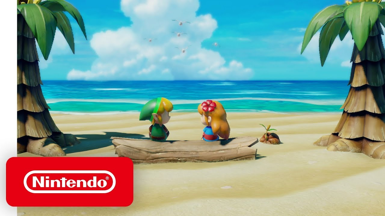 The Legend of Zelda: Link's Awakening - Story Trailer - Nintendo Switch thumbnail