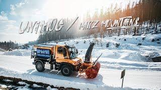 Henne UNIMOG Mercedes-Benz // Harz Mountains