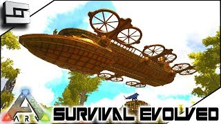 epic steampunk airship ark survival evolved s2e13 modded ark w pugnacia dinos