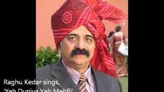 Raghu Kedar sings,