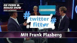 Twitter Fitter mit Frank Plasberg und Brigitte Büscher