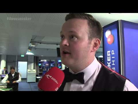 Shaun Murphy's Interview form Round 1 of The BETFRED World Snooker Championships!