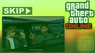 How To Skip The GTA 5 Online Tutorial - Quick & Simple! (Bypassing Online Tutorial)