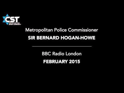 Sir Bernard Hogan-Howe discusses Jewish security on BBC London, February 2015