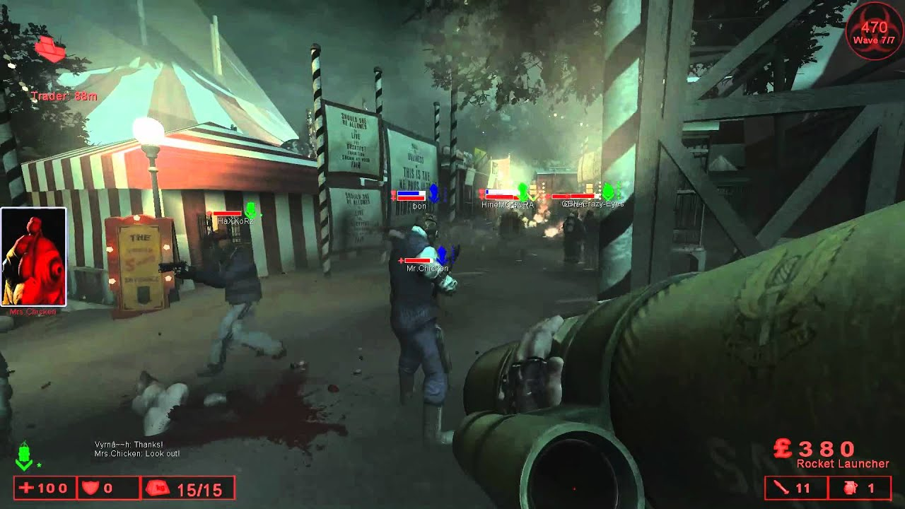 Killing Floor   [The Dedicated Server] 25 Player Abusement Park, Final Wave