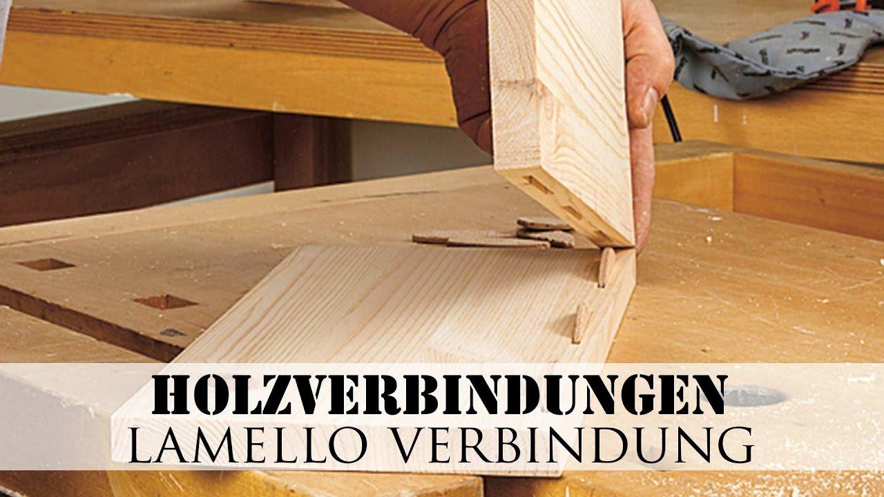 Holzverbindungen Lamello Verbindung