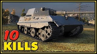 E 50 - 10 Kills - 9,9K Dmg - World of Tanks Gameplay